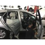 blindagens de vidros automotivos Alphaville